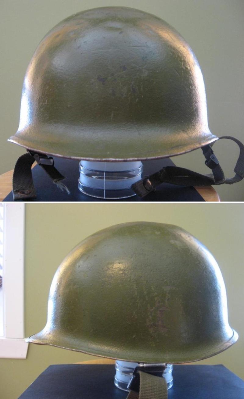 Us m1c 1965 67 le dessus du casque est tout bossel je crois une utilisation pour des jeux de guerre car il semble avoir t repeint altavistaventures Choice Image