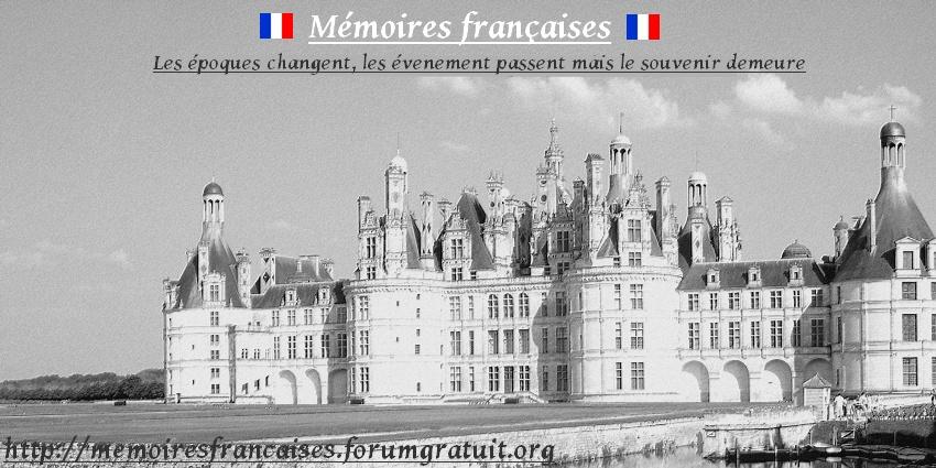 Mémoires françaises