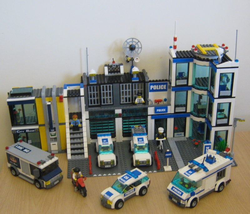 lego police station 7498 instructions