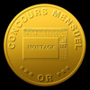 Palmarès montage : 14 or 11 argent 6 bronze