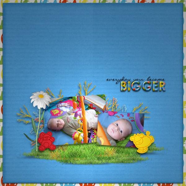 kit bébé grandit simplette page tigroune
