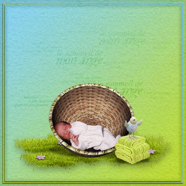 kit bienvenue bébé simplette page simplette