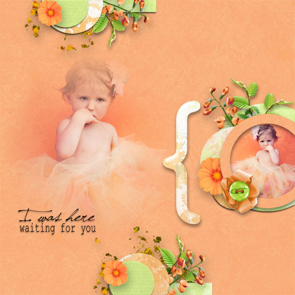 kit romantic treasure simplette page tigroune