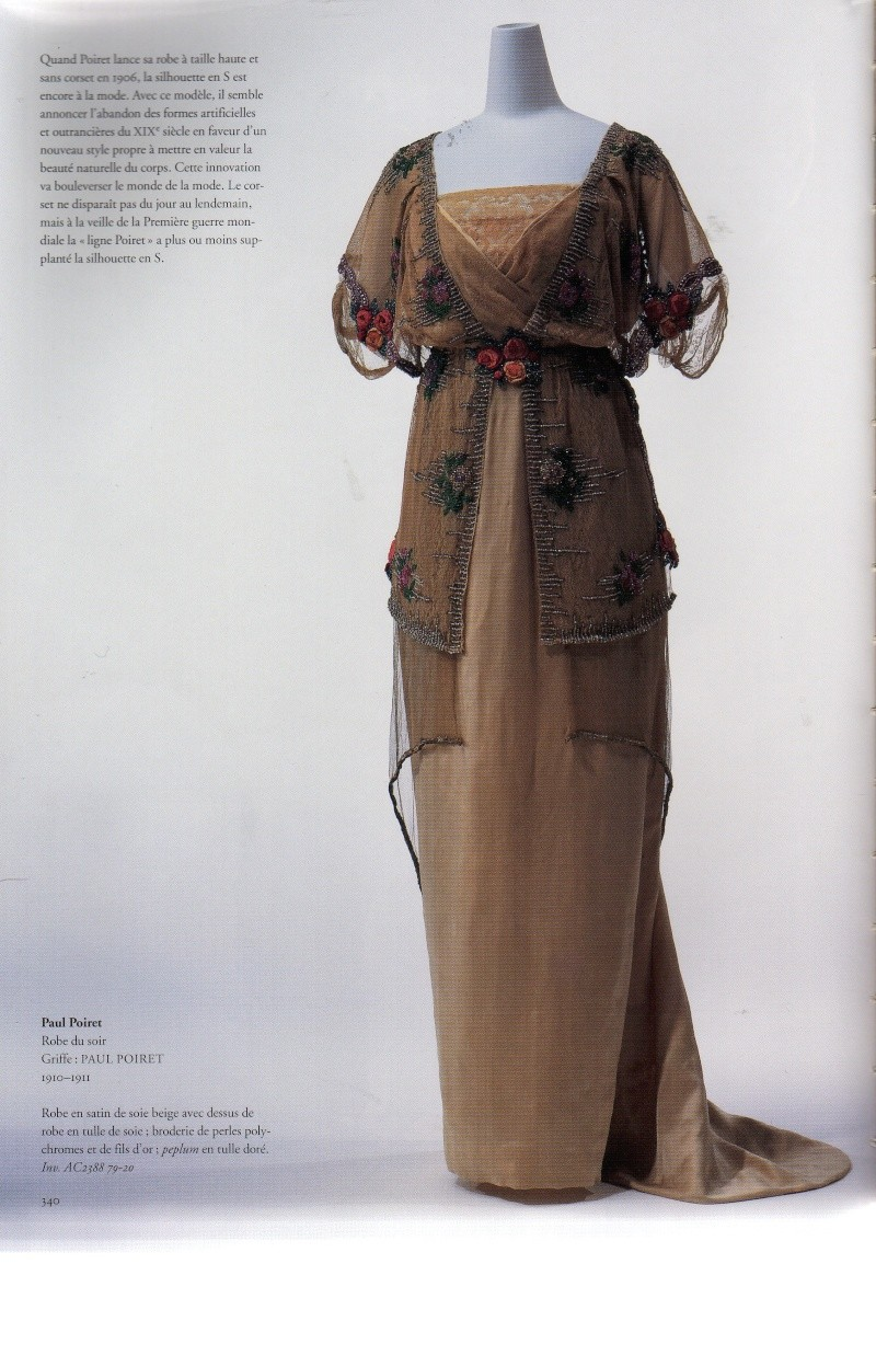 Patron couture robe 1900 for 1900 haute couture