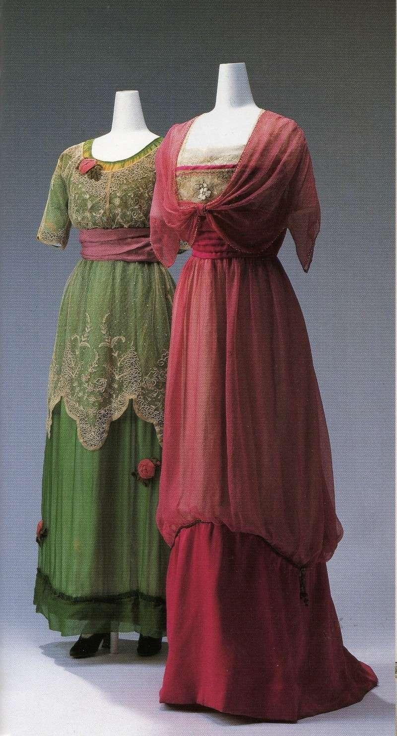 vintage dresses 1910s