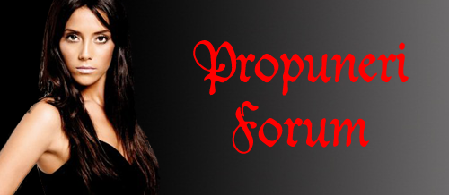 Propuneri forum