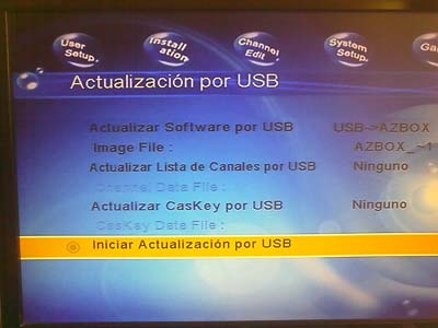 Actualización AzBox