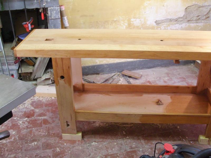 R novation de mon tabli le surfa age suite 5 13 histoires de bois - Construction etabli en bois ...