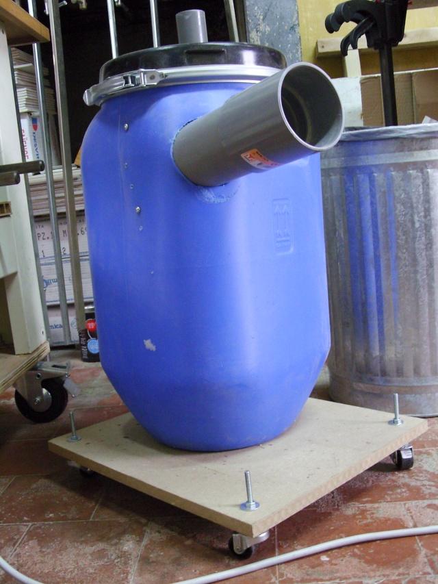 Aspirateur collecteur bidon cyclone for Aspirateur piscine cyclone