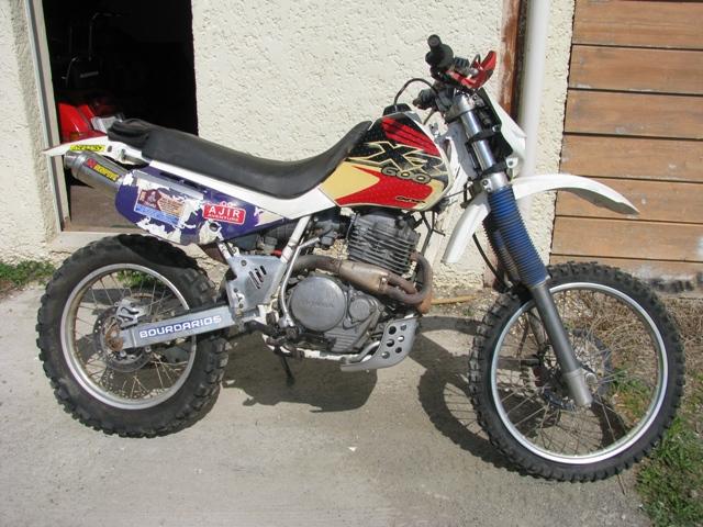 HONDA 600 XR