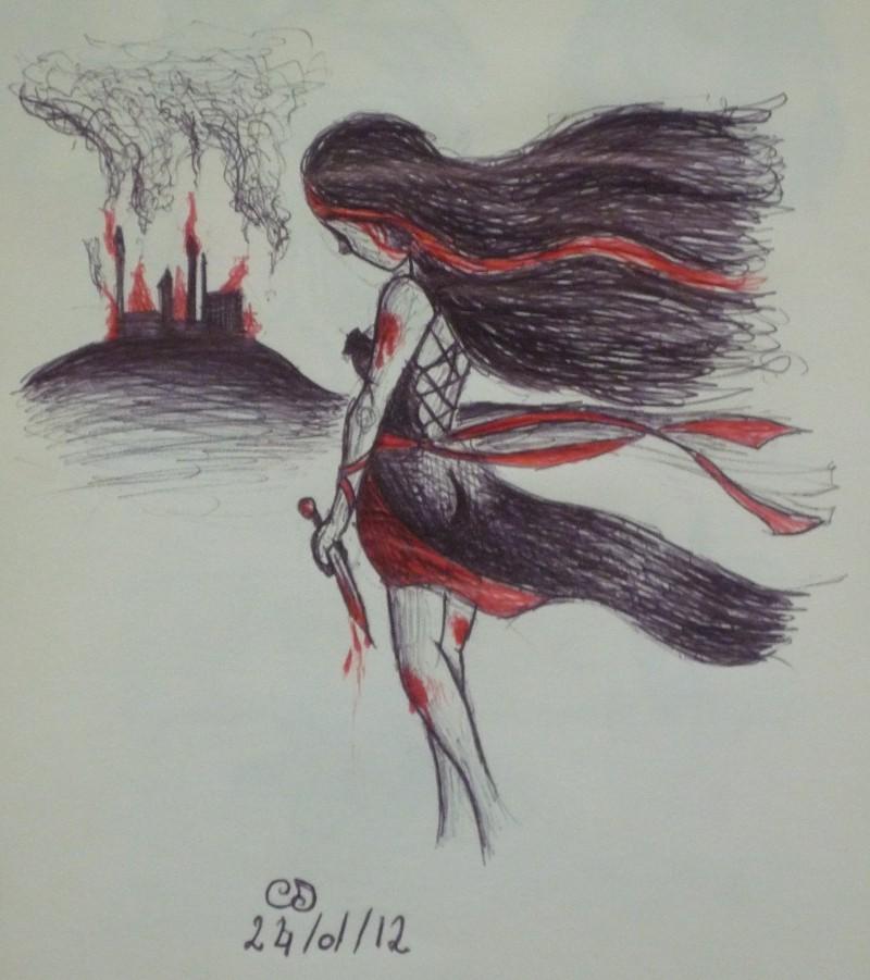Saphi et ses crayons juin 2012 - Dessin gothique ...