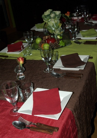 une table aux couleurs de l 39 automne balade gourmande de. Black Bedroom Furniture Sets. Home Design Ideas