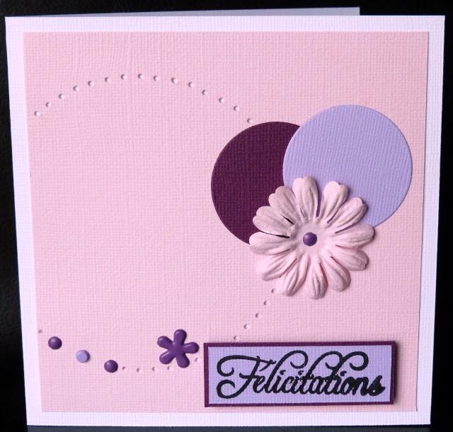 Carte de f licitations tendre pour une naissance ou un for Fleurs pour une naissance