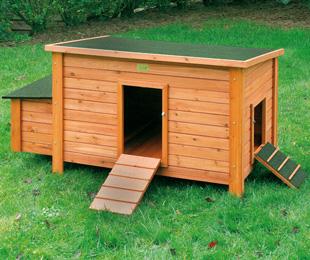construire un poulailler en bois poulailler. Black Bedroom Furniture Sets. Home Design Ideas