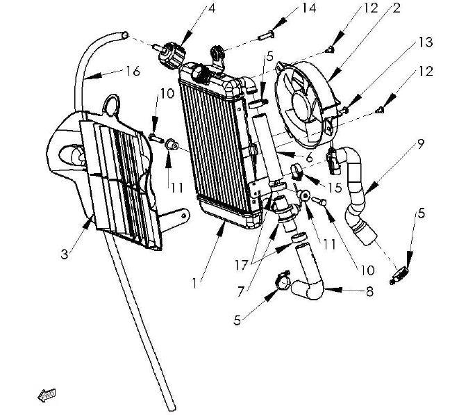 casse radiateur et serrage moteur