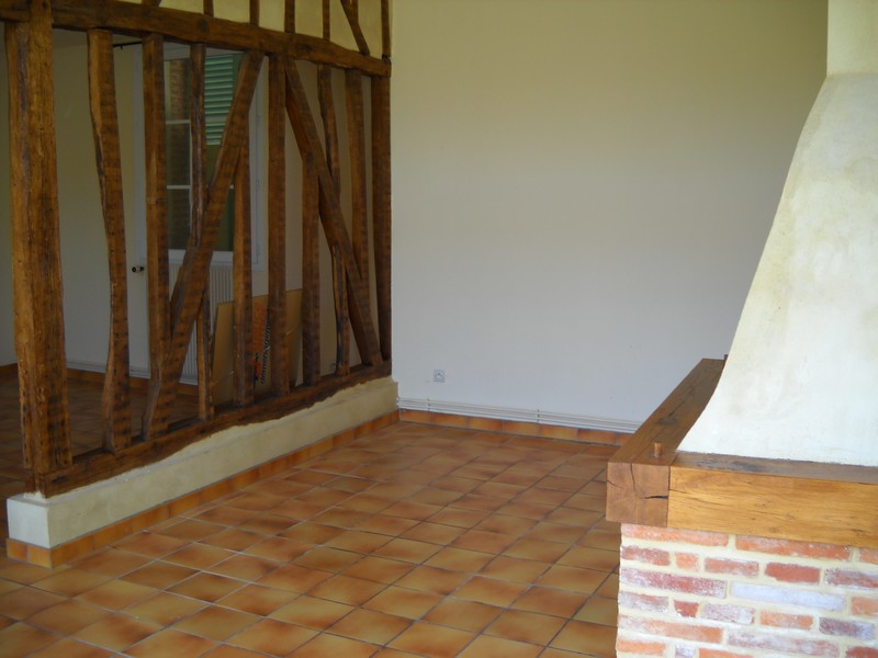Couleurs avec un carrelage marron orang for Carrelage orange sol