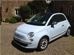 Fiat 500 Baby Blue - £6750