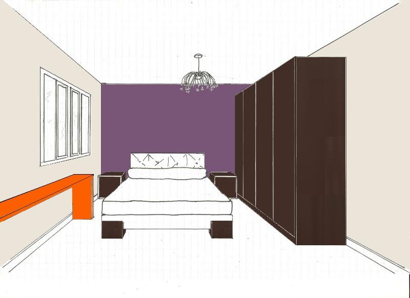 Chambre couleur prune solutions pour la d coration int rieure de votre maison - Chambre grise et prune ...